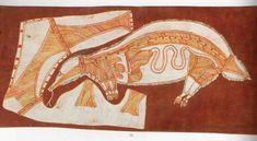 Lofty Nadjamerrek | bardayal nadjamerrek | sell Lofty Nadjamerrek Aboriginal Art Animals, Aboriginal Art For Kids, Aboriginal Culture, Briefs, Art Lessons, Painted Rocks, Textiles, Live, Illustration
