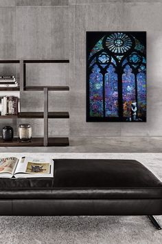 Stained Glass Window II by Banksy Canvas Print by iCanvasART on @HauteLook