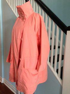Vintage 80s Lightweight Raincoat  Oversized by BunLoveOneLove, $19.00