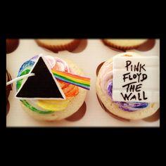 Pink Floyd cupcakes