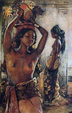 BAT0002 - Traditional Balinese Art Painting