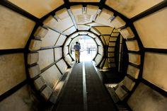 star wars imagination exhibit millenium falcon interior