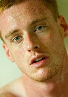 The only thing better than a ginger man is a ginger man with a ton of freckles! Hot Ginger Men, Ginger Hair, Ginger Guys, Redhead Men, Hottest Redheads, Interesting Faces, Male Face, Male Beauty, Gorgeous Men