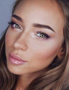 Best Natural Makeup Looks #nude | ko-te.com by @evatornado