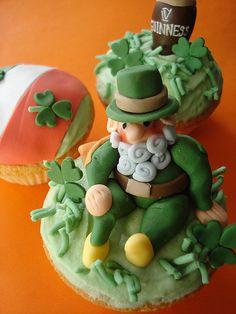 Leprechaun Cupcake