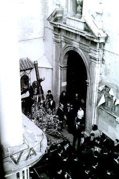 Calle Andrés Perez. Semana Santa 1965. Foto A.Salinas