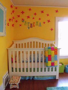 Athena's Rockin' in Color Nursery