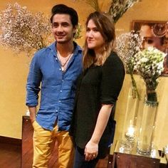 #alizafar with his wife  at the launch of #divanipakistan  #followme #insta #instagram #instapic #instagood #instafollow #instagramers #instalike #instafashion #instafamous #lifestyle #style #model #samysays #glam #glamour #artist #fashion #fashionista #fashionblogger