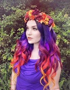 Magic Spectrum #Purple | Colourful Mabon Hair