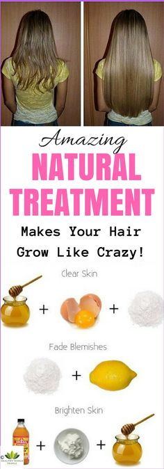 The next natural home remedy will help you grow your hair in a very short amount of time.
