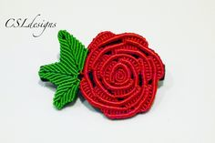 In this tutorial I show you how to make a micro macrame rose that is perfect for Valentines and can be used for many different purposes. Please feel free to ...