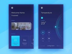 Nice smart home app concept UI design by Yvonne Feng. - - - - - #UI #UX #uidesign #uxdesign #userexperience #userinterface #experiencedesign #interfacedesign #hci #app #appdesign #mobiledesign #mobileappdesign #photoshop #behance #ilustrator #aftereffects #design #wireframe #mobileapp #interactiondesign #digitaldesign #graphicdesign #webdesign #web #webapp #websitedesign #mobileapps #social #blue