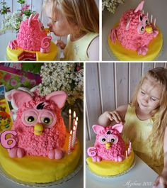 Furby cake for my daughter 6th birthday