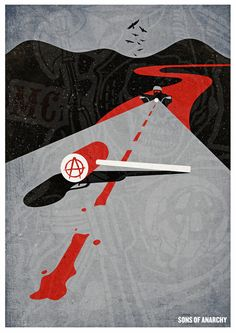 Sons Of Anarchy Print Art Print