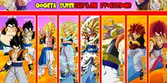Gogeta Supersaiyajin Evolutions