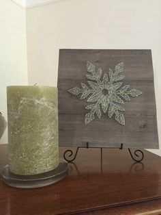 A personal favorite from my Etsy shop https://www.etsy.com/listing/474230685/made-to-order-shimmery-snowflake-string