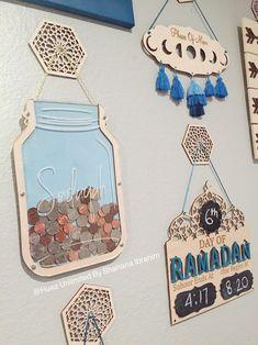 Excited to share this item from my shop: Sadaqah Jar Islamic money box Islamic home Decor Muslim Decor eid gift islamic Charity box - YUNUS Collection Eid Crafts, Ramadan Crafts, Islamic Decor, Islamic Gifts, Fest Des Fastenbrechens, El Ramadan, Muslim Ramadan, Decoraciones Ramadan, Cool Ideas