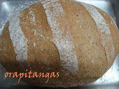 ora, pitangas!!!: pao de farelo de trigo