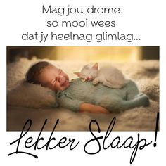 Mag jou drome so mooi wees dat jy heelnag glimlag. Afrikaanse Quotes, Good Night Blessings, Goeie Nag, Christian Messages, Sleep Tight, Cartoon Pics, Sweet Dreams, Birthday Wishes, Cute Pictures