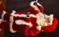 Another hand sculpted and costumed Santa.   Please see more of my work by searching Facebook for Snowflake Bay Santas