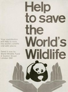 "The WWF logo was inspired by Chi-Chi, a giant panda brought to the London Zoo in 1961, when WWF was being created. Says Sir Peter Scott, one of those founders and the man who sketched the first logo: ""We wanted an animal that is beautiful, is endangered and one loved by many people in the world for its appealing qualities. We also wanted an animal that had an impact in black and white to save money on printing costs."""