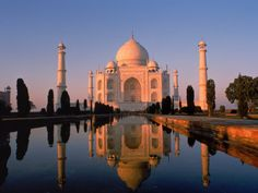 Taj Mahal,  Mughal architecture, a style that combines elements from Persian, Turkish and Indian architectural styles