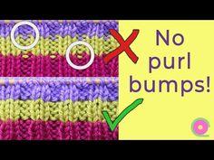 Ristiin rastiin: Pikavinkki - suorat raidat joustinneuleeseen Crotchet Stitches, Knitting Stitches, Knitting Socks, Knit Crochet, Fair Isle Knitting Patterns, Purl Stitch, Yarn Colors, Knitted Blankets, Color Change
