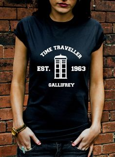 Doctor Who Time Traveller Gallifrey T-shirt | Blasted Rat
