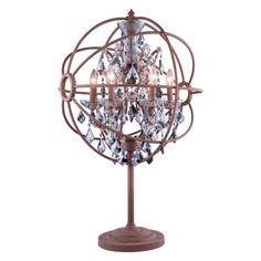 Elegant Lighting Geneva 1130 Table Lamp