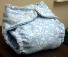 How to Sew a Fitted Cloth diaper (on the cheap!)