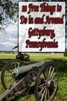 Planning to travel to Gettysburg, Pennsylvania? Here's a great list of 10 completely free things to do in and around Gettysburg, PA: http://uncoveringpa.com/free-things-to-do-in-adams-county-pennsylvania-gp