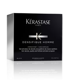 Kerastase launches hair treatments for men with Kerastase Densifique Homme http://www.luxuryfacts.com/index.php/sections/article/Kerastase-launches-hair-treatments-for-men-with-Ke