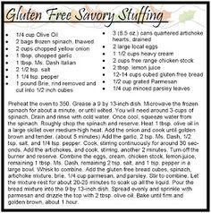 GF Stuffing via Gluten Hates Me