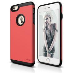 elago S6+ Duro Case for iPhone 6 Plus - Matt Black + Italian Rose
