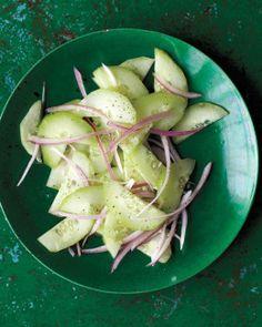 Quick Pickled Cucumber Salad Recipe