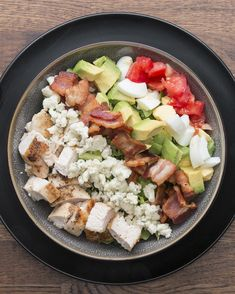 Zesty Chicken Cobb Salad | Try This Zesty Chicken Cobb Salad For Lunch Next Week