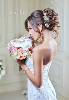 Fleur fleur couronne mariage Couronne de perles de mariée Sakura Couronne florale bandeau mariée fleur de tiare