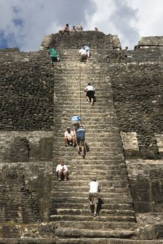 "Lamanai (""Submerged Crocodile"") is a Maya site located in Orange Walk, Belize."