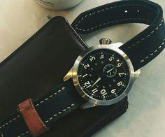 #leather handmade watch strap