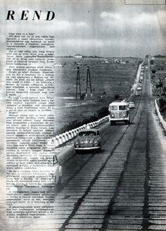 Hungarian Auto Motor 1960 julius 1 Auto Motor, Motor Car, Railroad Tracks, Car, Automobile, Train Tracks