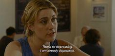 """Lola Versus """"That's so depressing, I am already depressed."""""""