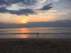 Thailand mit Kindern -der Sonnenuntergang in Khao Lak