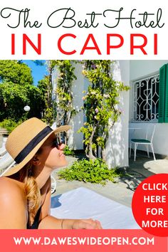 Il Carrubo is the most beautiful country house in Capri, run by a young family trio. CAPRI / CAPRI ITALY HOTELS/ CAPRI ISLAND / CAPRI ITALY AESTHETIC/ DREAM VACATIONS DESTINATIONS / EXOTIC PLACES TO TRAVEL / CAPRI ISLAND HOUSE / ITALY HOUSE ITALIAN VILLA / CAPRI ITALY BLUE GROTTO / CAPRI BEST PLACE TO STAY/ PLACES TO STAY IN CAPRI #CAPRI #ILCARRUBO #ILCARRUBOCAPRI #ITALY #BESTPLACESTOSTAYINCAPRI via @daweswideopen favourite cities of the world