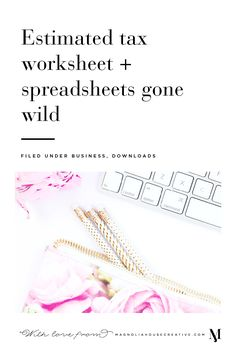 Today, I'm excited to introduce a new series on the blog - Spreadsheets Gone Wild. Maybe it's my undergraduate degree in Economics and my background in corporate marketing, or maybe I was just born a nerd - but there's nothing sexier to me than a well-formatted and highly functional spreadsheet