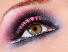 pink make-up idea