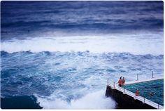 Bondi is beautiful, rain or shine! Surf Report, Bondi Beach, Surf Style, Surfing, Rain, Waves, Boat, Photography, Outdoor