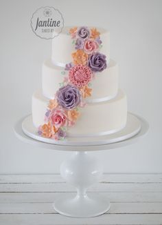 Spring weddingcake @Cakes by Jantine
