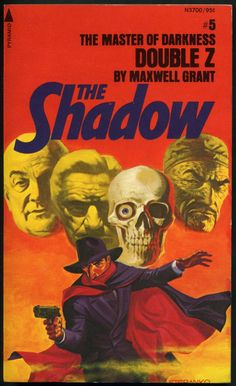 The Shadow 5 - Double Z - Steranko cover