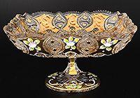 Форма прозрачные с золотом. Декор: Хрусталь с золотом. Подробнее...