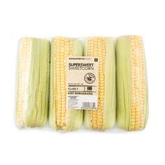 Supersweet Sweetcorn 4Pk Woolworths Food, Vegetable Salad, Some Ideas, Fresh Vegetables, Food Items, Fruit, Sky, Chicken, Heaven